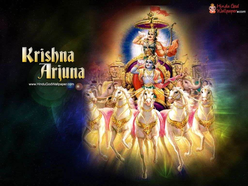 Lord Krishna And Arjuna Wallpaper Pictures Radhakrishnakrishnas