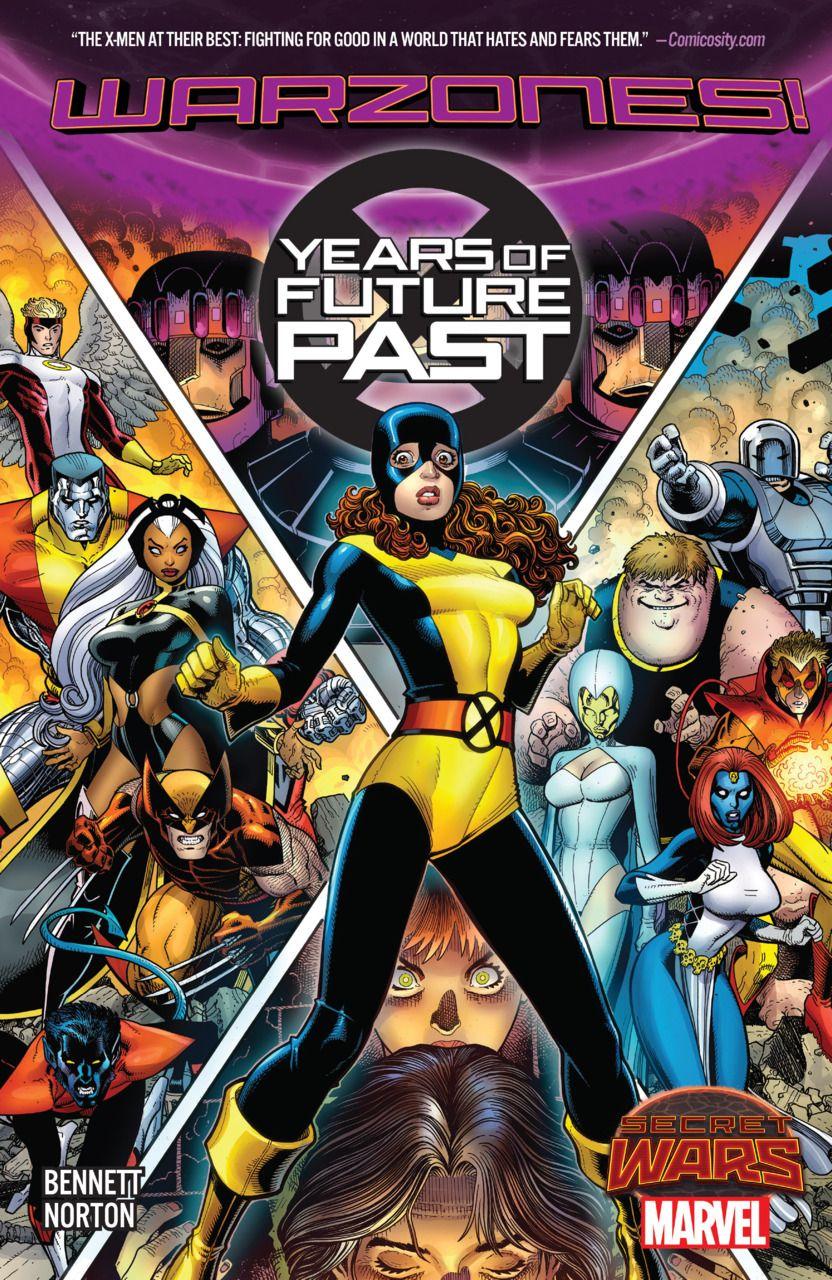 X Men Years Of Future Past Warzones 1 Tpb Issue Midtown Comics Comics Marvel Comics