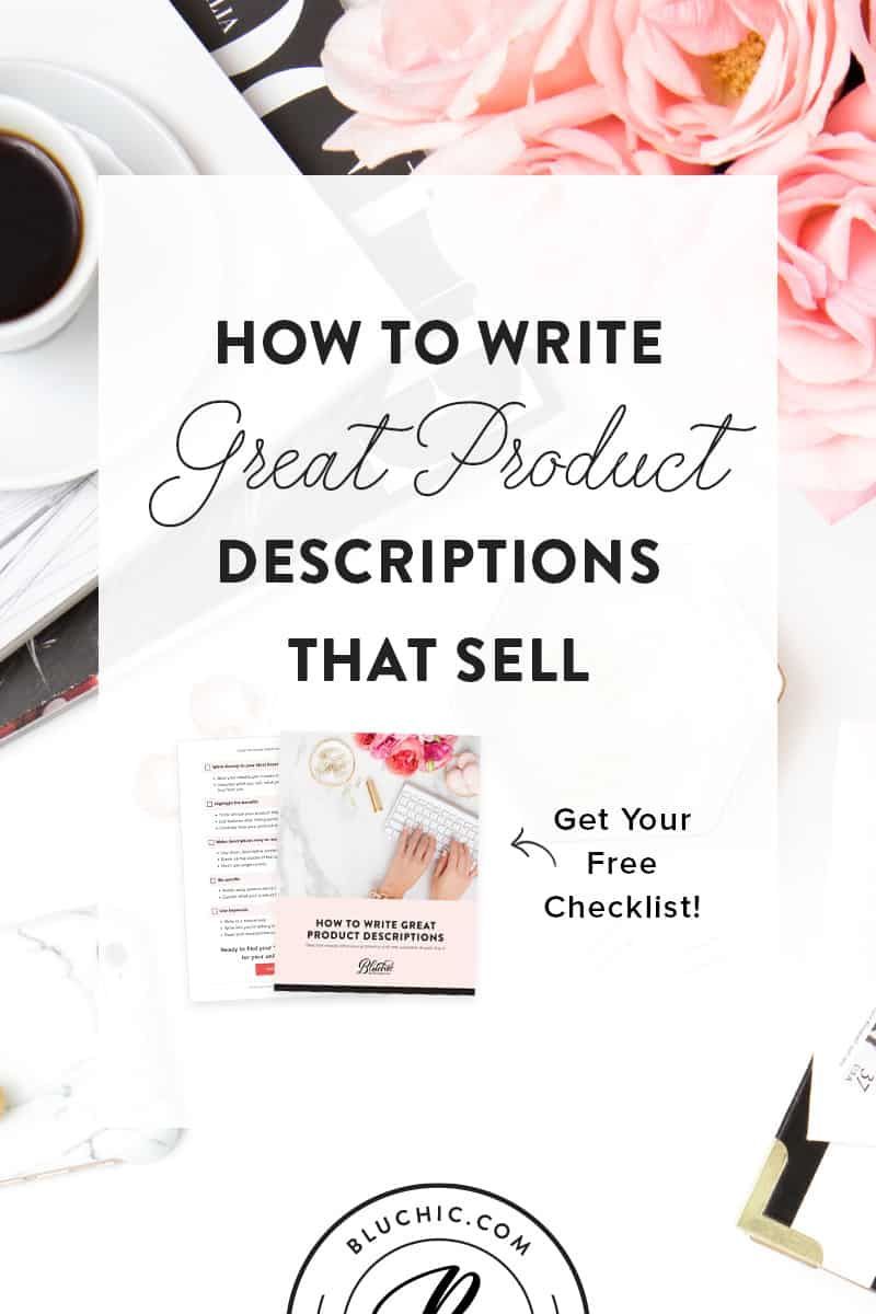 How To Write Great Product Descriptions That Sell Things