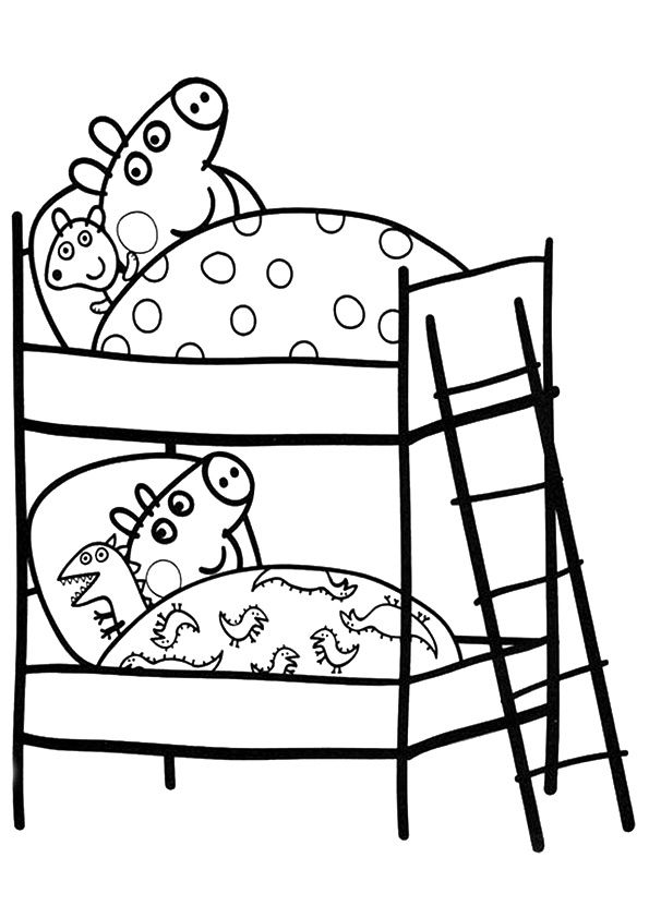 Coloriages Gratuits Peppa Pig Peppa Pig Coloring Pages