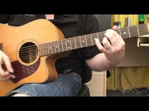 How To Play Drive By Incubus On Acoustic Guitar Musical Sounds