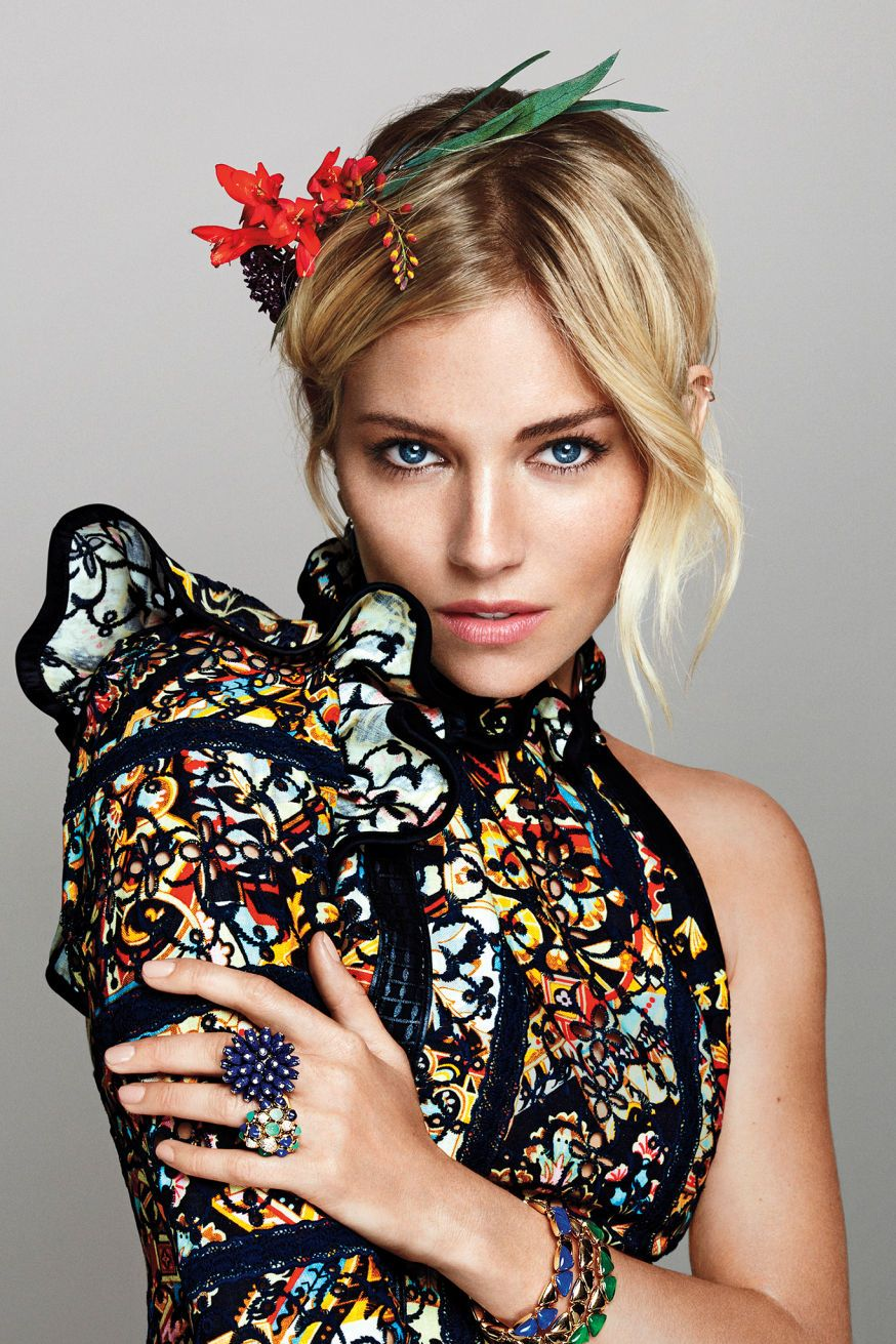 Sienna Miller for Marie Claire US October 2015 PHOTOGRAPHER: TXEMA YESTE STYLING: ZANNA ROBERTS RASSI