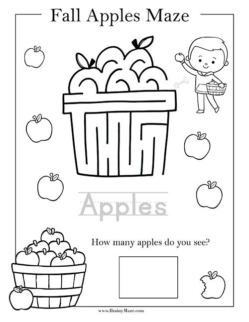 Pin On Mazes For Nadya Maze worksheets for kindergarten