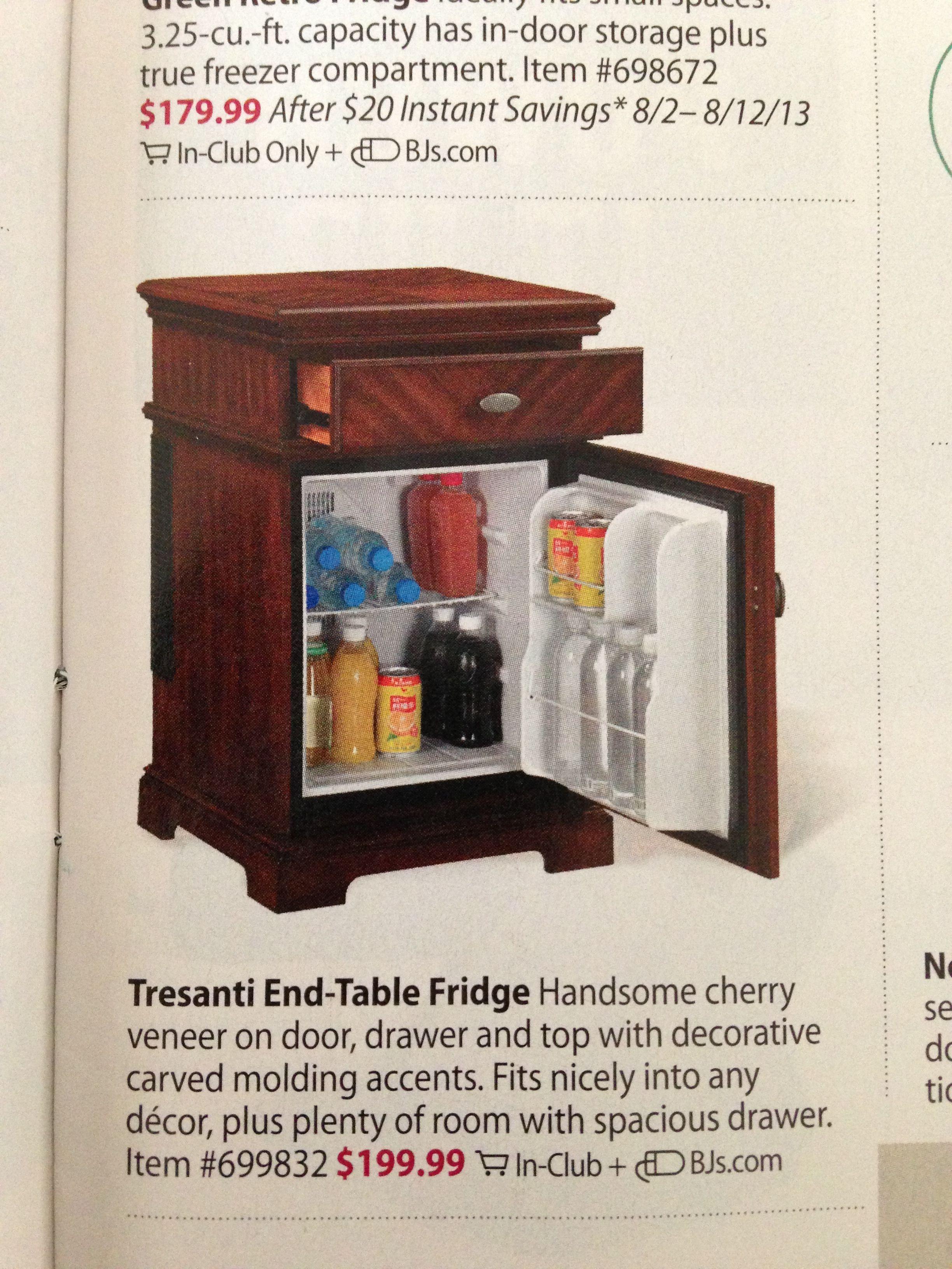 Refrigerator End Table Bedroom Look Like