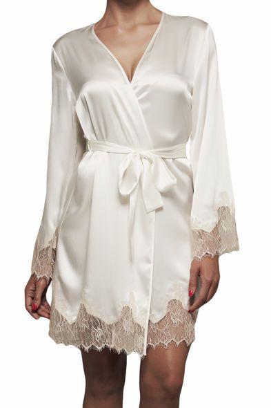 KissKill Brudsmorgonrock Lucy - Nattkläder. #underwear #lingerie #morgonrock #nattkläder #underkläder