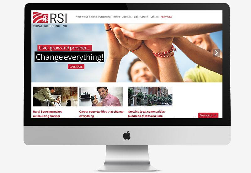 Inc. 5000 Small Business Responsive Redesign (WordPress)