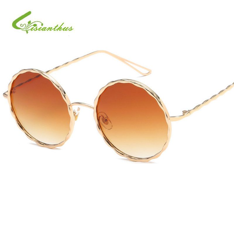 >> Click to Buy << Vintage Steampunk Round Sunglasses Women Oversized Metal Frame Color Lens Sunglasses Retro Shades Women Brand Sun Glasses Oculos #Affiliate