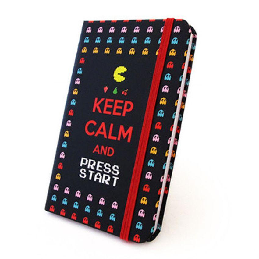 Caderneta Pac Man - Putz Que Legal - Presentes Legais e Criativos