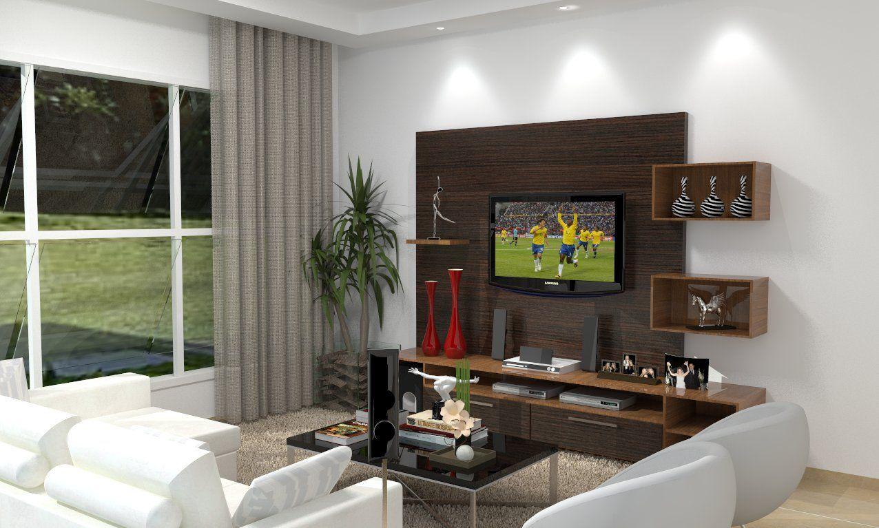 Medidas Para Sala De Tv ~ 30 tipos de moveis sob medida para sala  Painel and TV