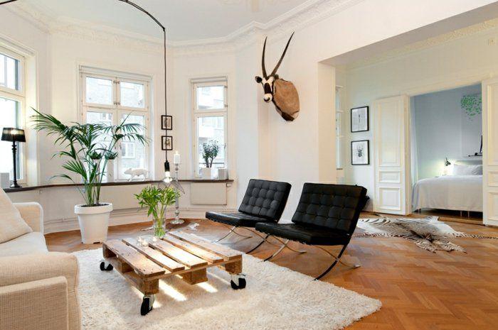 europalette holz paletten möbel diy ideen wohnzimmer barcelona - ideen für das wohnzimmer