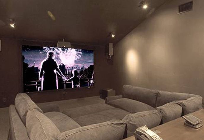 Get Family And Friends Together For A Movie Night! TAG FAMILY U0026 FRIENDS ❤  Designed By New Wave AV | Home| Decor | Pinterest | Basements, ...