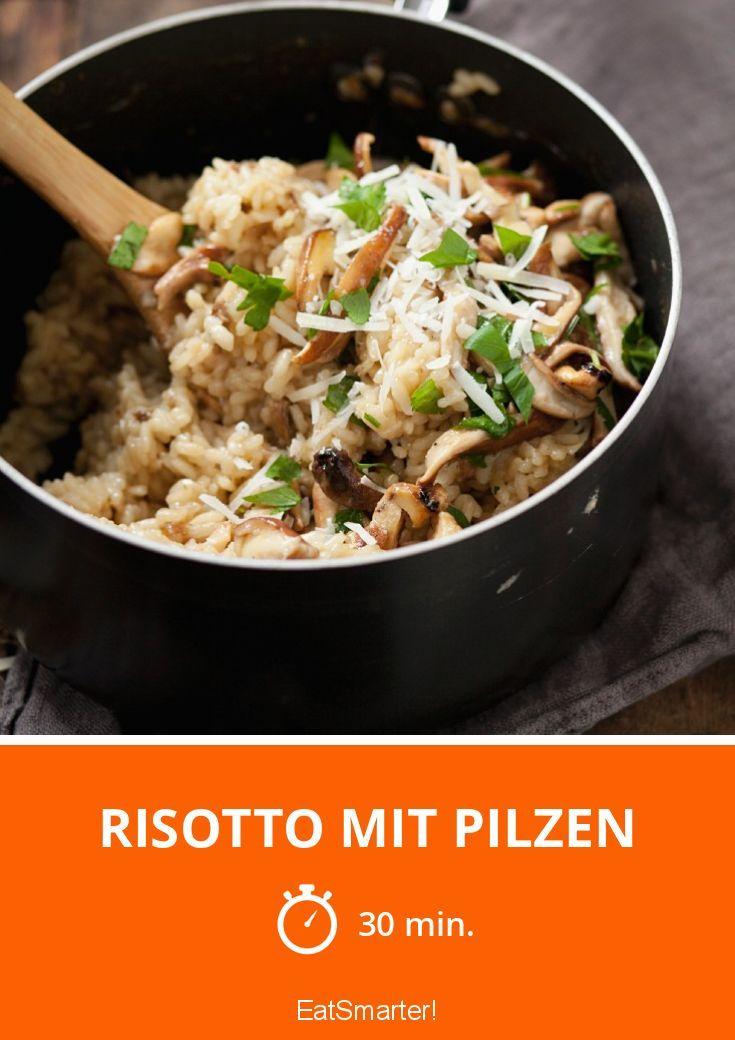 Risotto mit Pilzen   – Essen