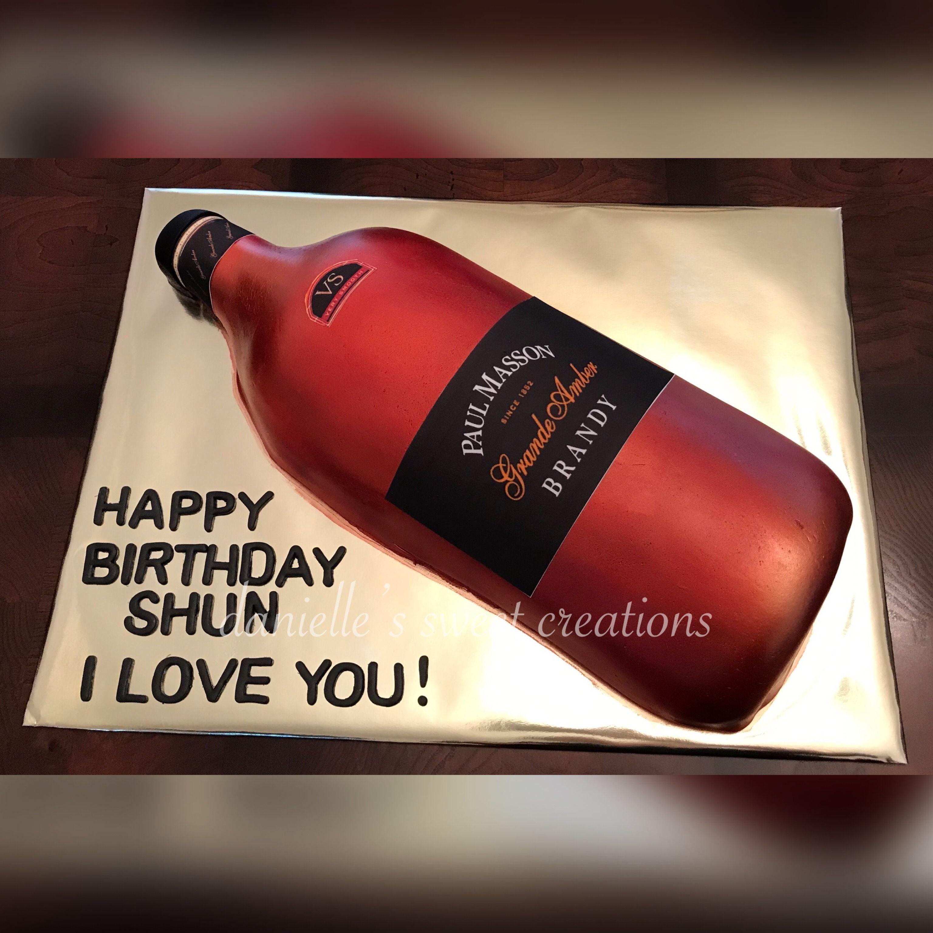 Turn Up Turn Up Wishing Shun A Happy Birthday Wine Bottle Birthday Rose Wine Bottle