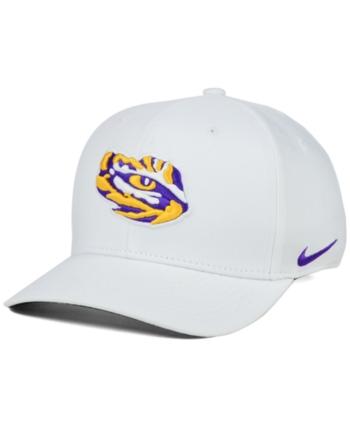 530448b8 Nike Lsu Tigers Classic Swoosh Cap - White S/M in 2019 | Products ...