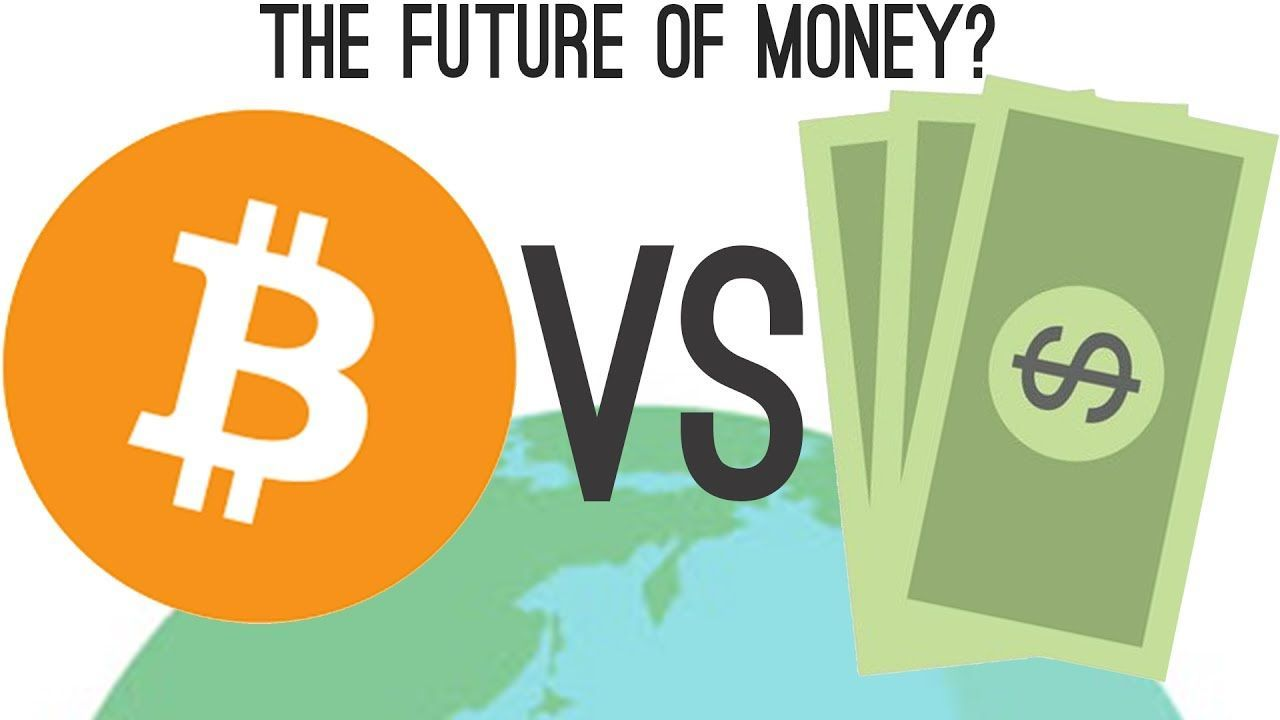 bitcoin vs normal currency