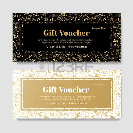 Znalezione obrazy dla zapytania elegant gift voucher Gift - food voucher template