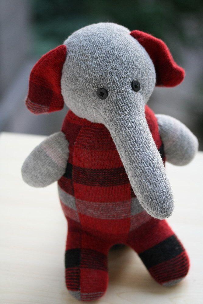 Plush Elephant Personalized stuffed animal dolls Soft Toys ...