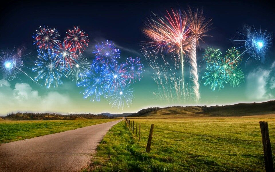 Pretty New year fireworks, Happy new year wallpaper, New