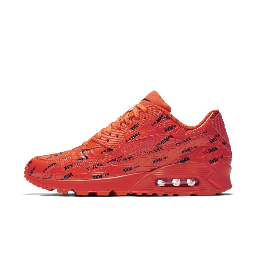 best website 30093 56132 Nike Air Max 90 Premium Men's Shoe Size 6 (Bright Crimson ...