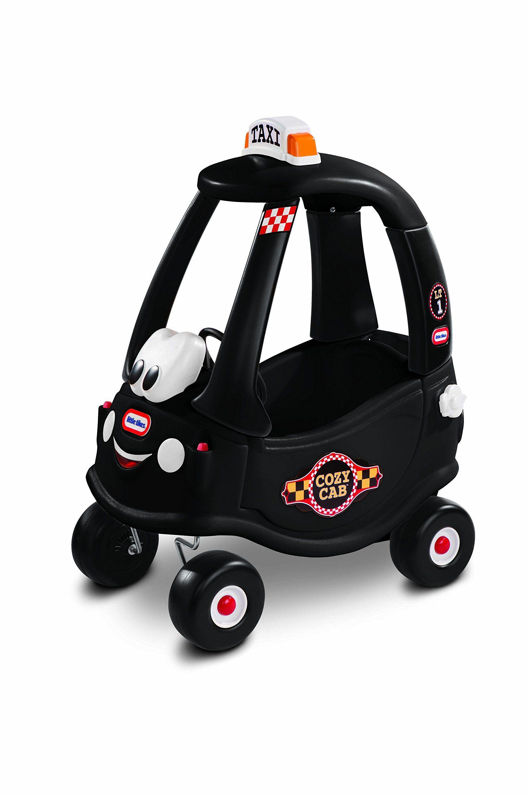 Little Tikes Black Taxi Cozy Coupe Rideon Cozy coupe
