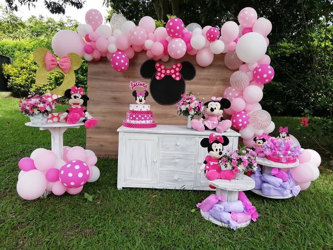 Pin On Minnie Party