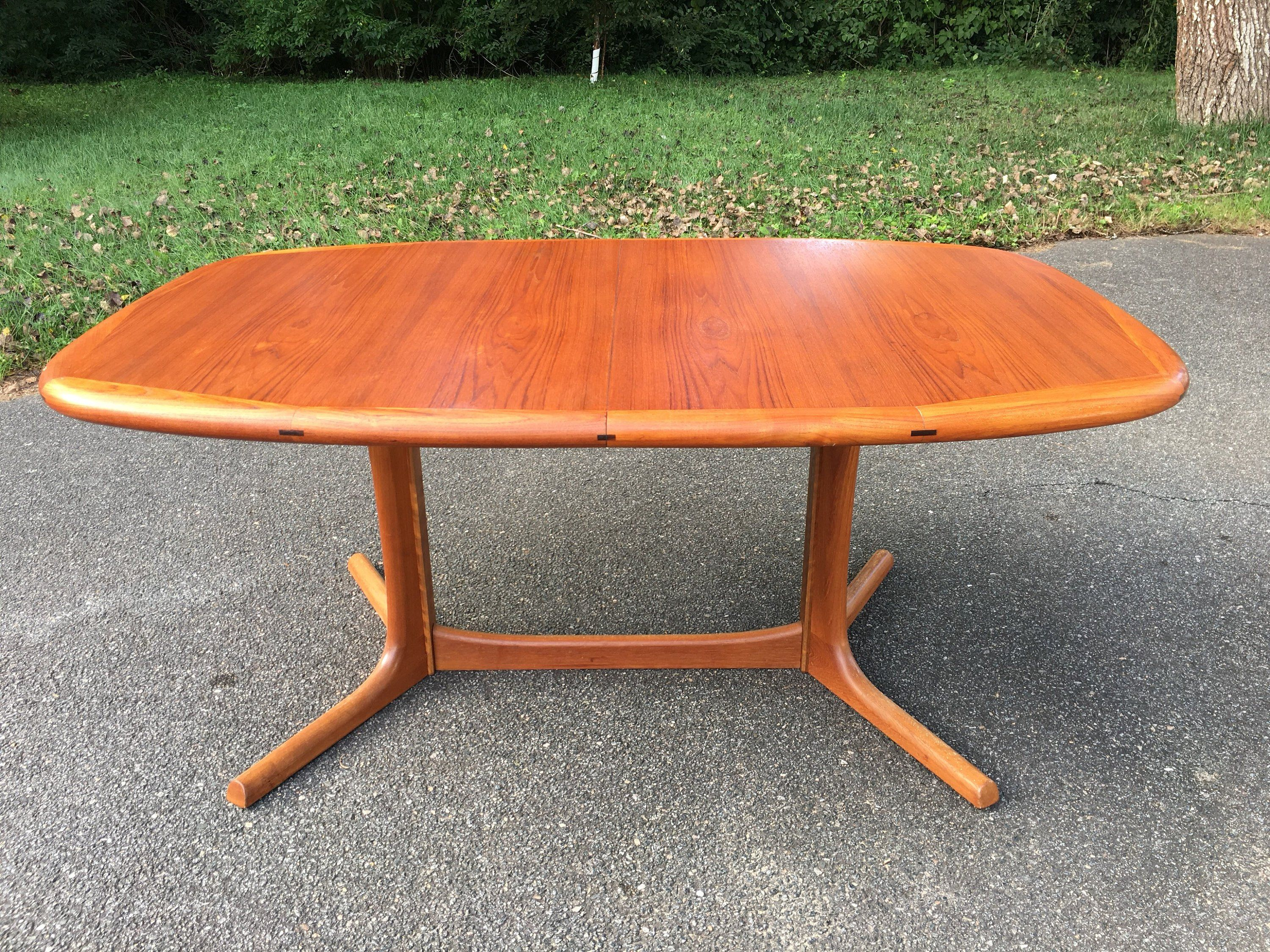Dyrlund Teak Dining Table Danish Modern Dining Table Made In