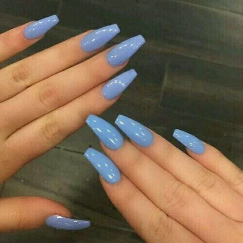 Pinterest Rollody Blue Acrylic Nails Best Acrylic Nails Gorgeous Nails