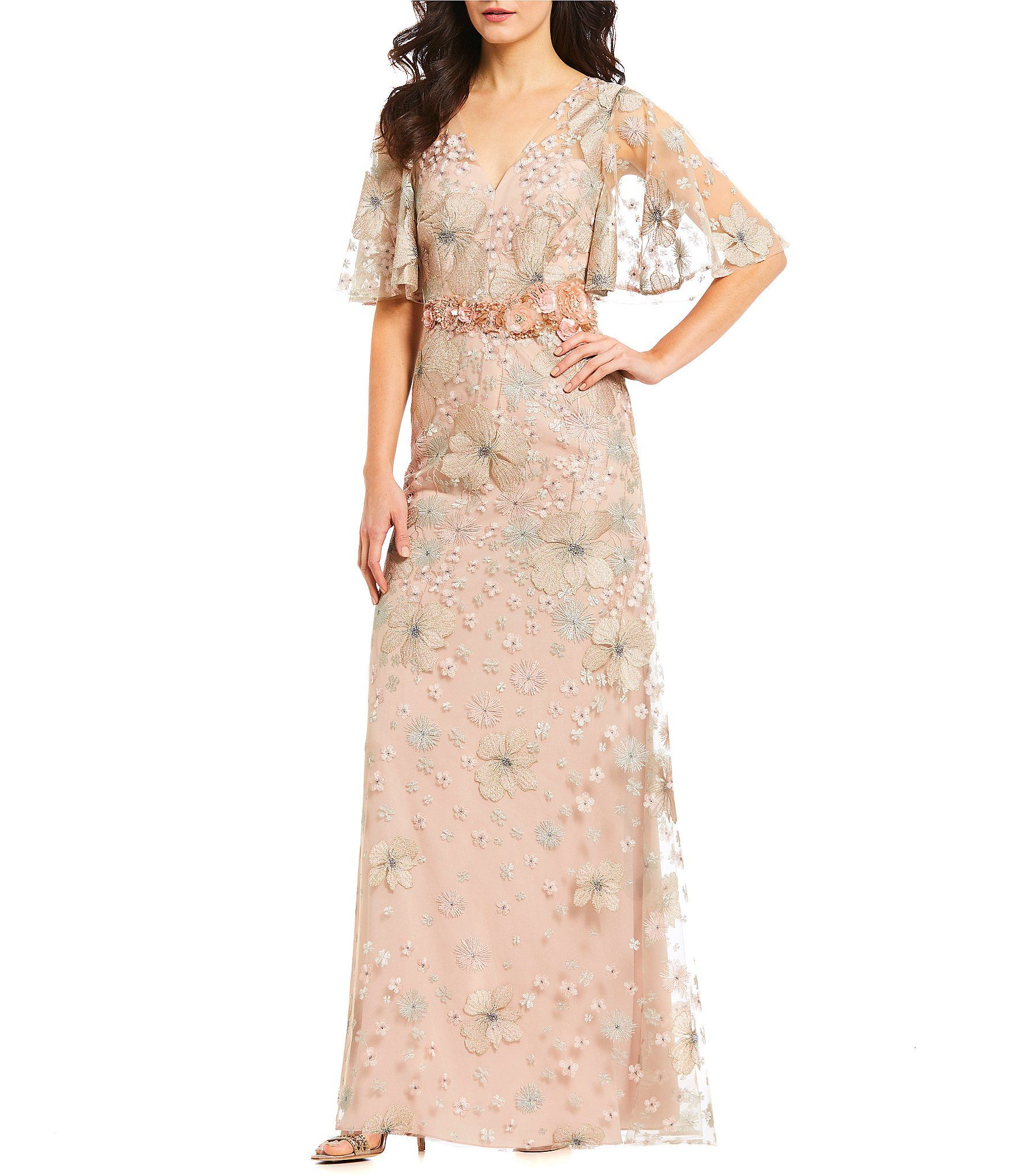 ffc2e15c771 Shop for David Meister Soft Embroidered Beaded Gown at Dillards.com. Visit  Dillards.com to find clothing