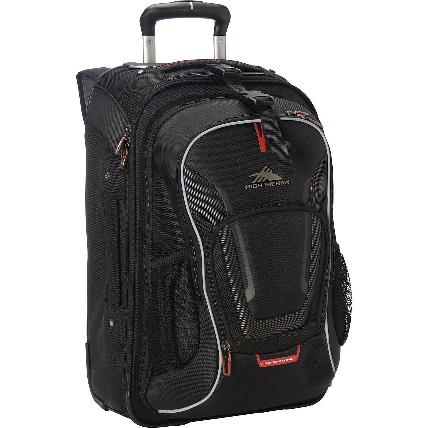 High Sierra At7 Carry On Wheeled Backpack With Removable