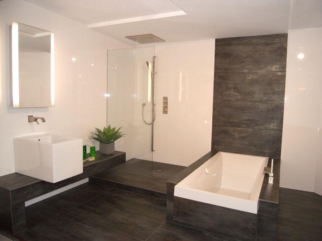 GroBartig Moderne Badezimmer Fliesen Beige