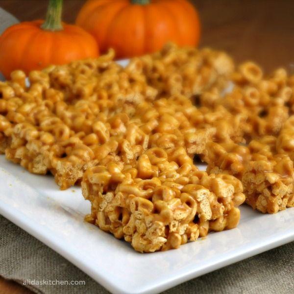 Pumpkin Pie Alpha-Bits Treats