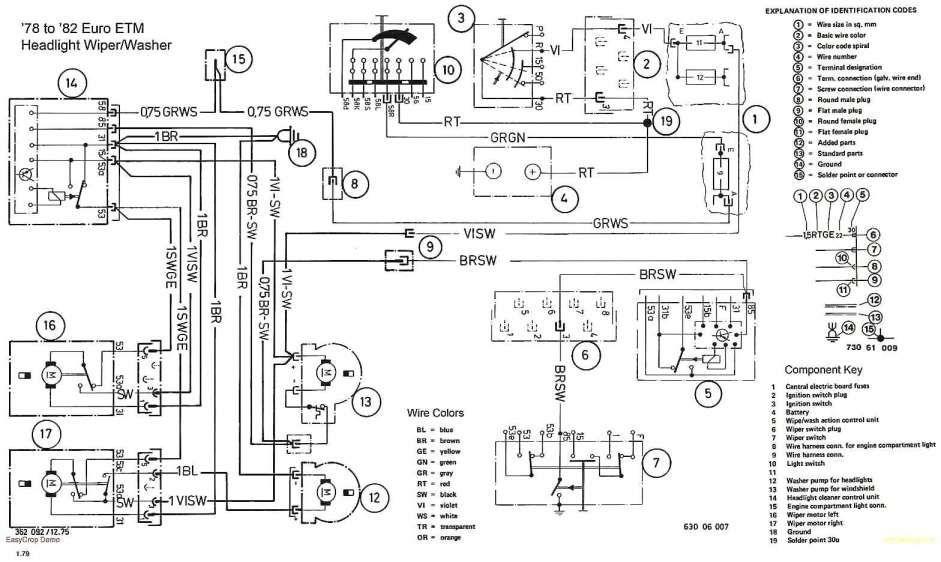 E36 Stereo Wiring Diagram