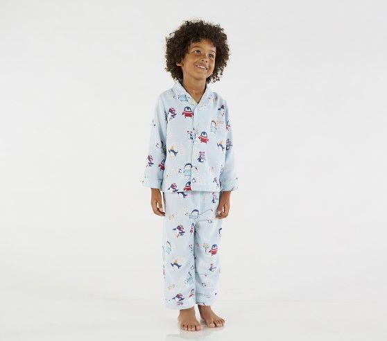 Icy Penguin Loose Fit Pajama Pajamas Loose Fitting