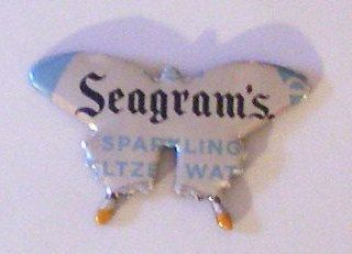 Butterfly Seagram S Sparkling Seltzer Water Can By Sodacanbuddies 2 00 Handmade Novelty Christmas Sparkle