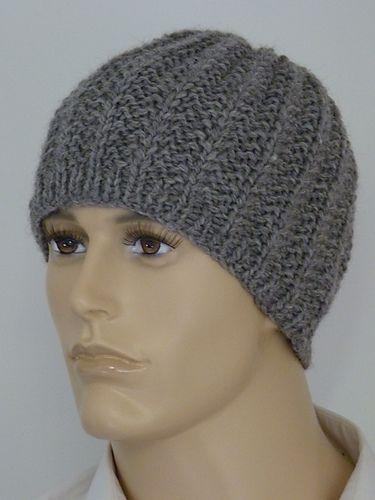 Beanie For Men Free Pattern Mens Hats Pinterest Knitting