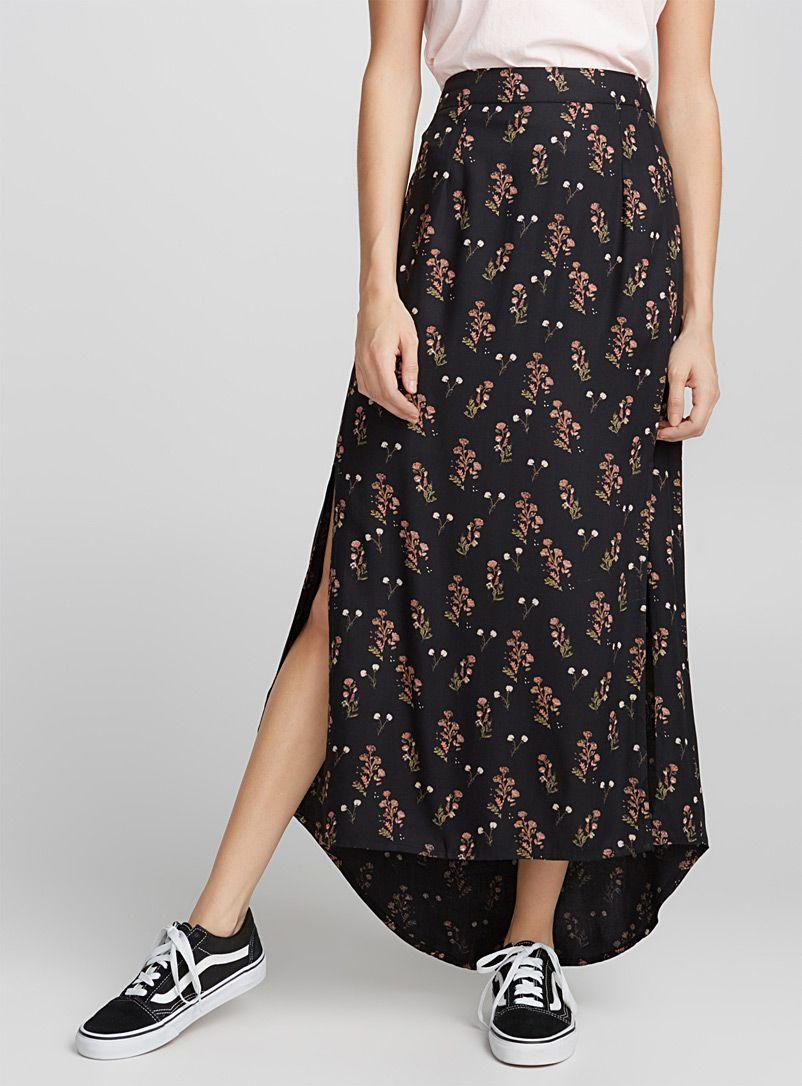 3138c6844e0f Printed asymmetric skirt   Twik   Shop Maxi Skirts Online in Canada   Simons