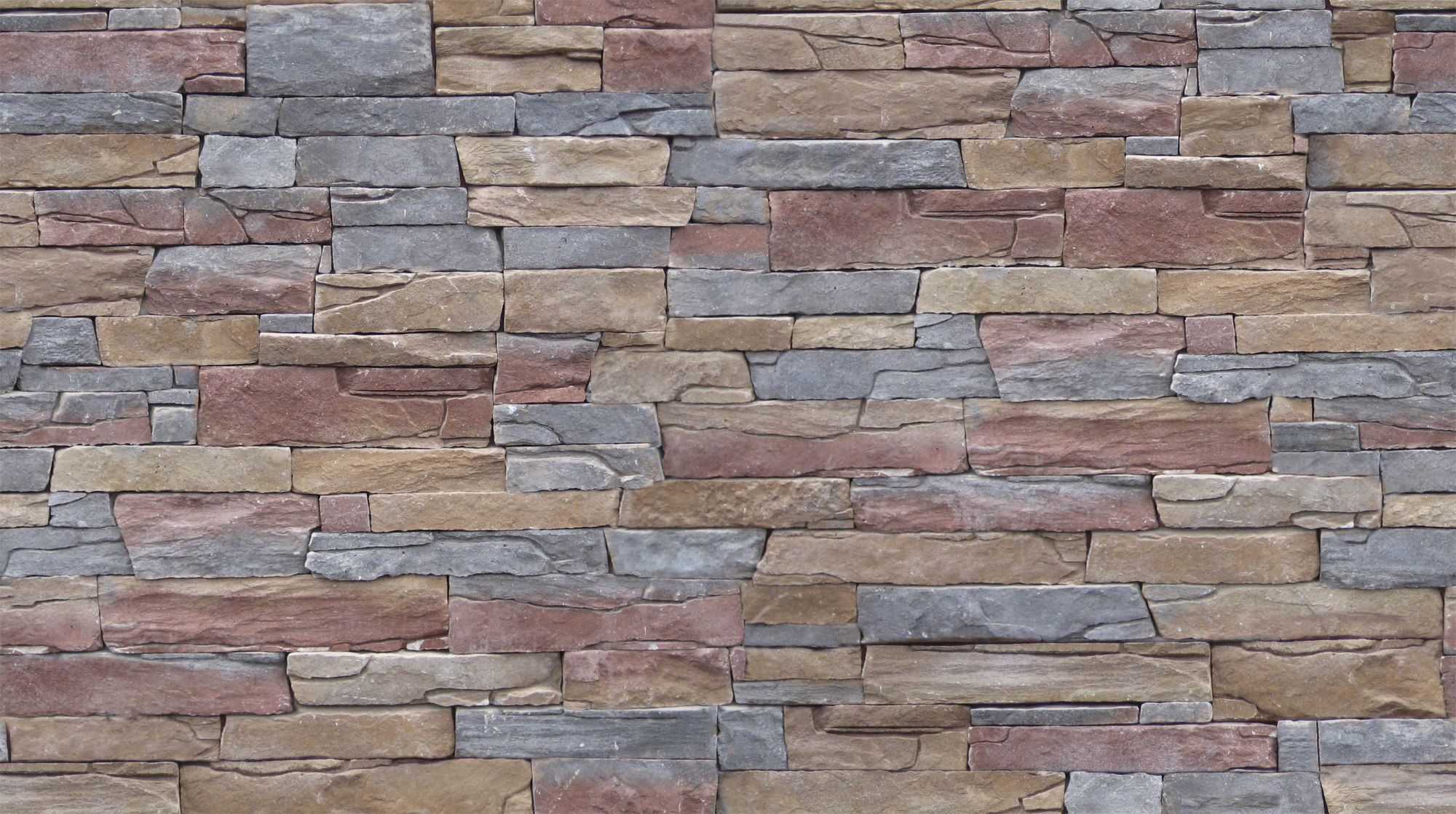 Stone wall colourful rough stone wall image and - Exterior textured paint home depot ...