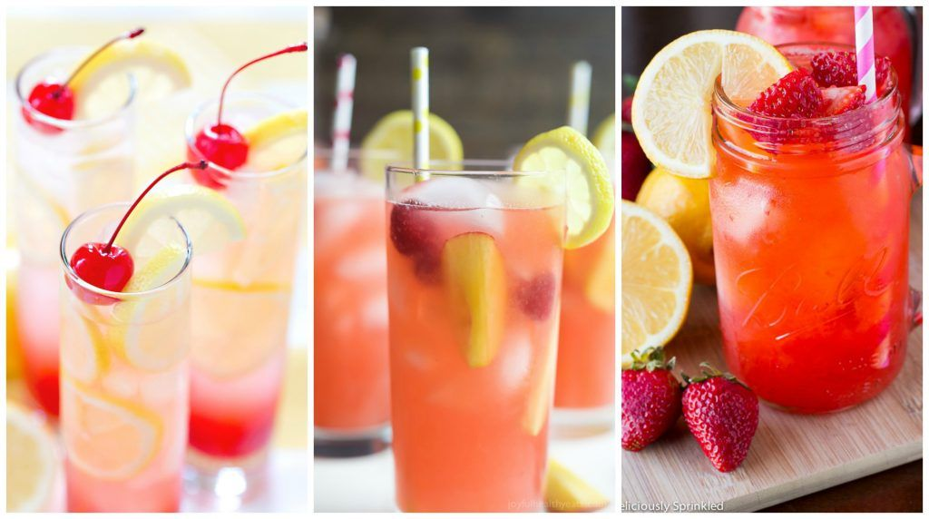9 Summertime Lemonade Recipes #easylemonaderecipe