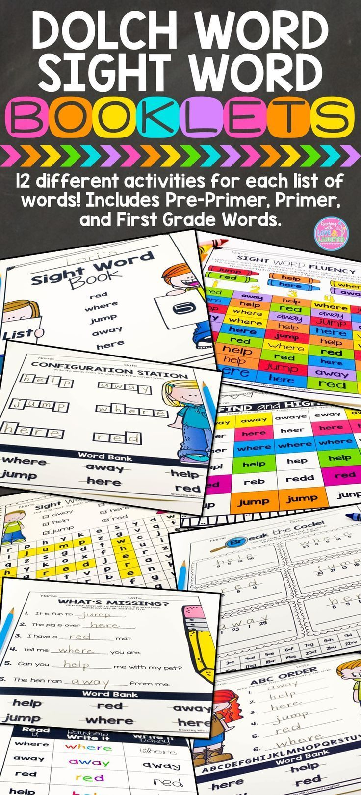 dolch sight word activities pdf