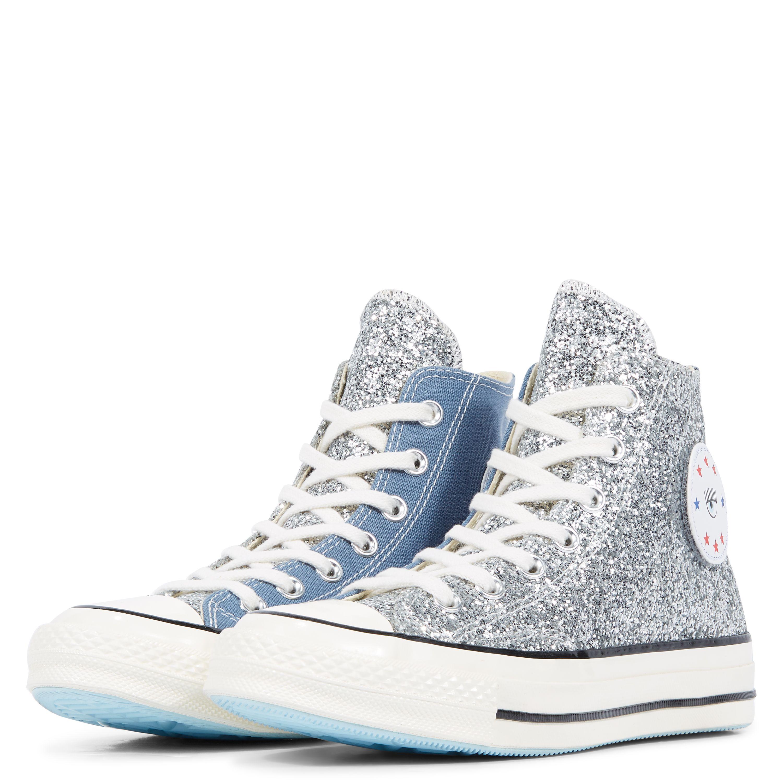 x Chiara Chuck 70 Glitter High Top Converse, Estilo