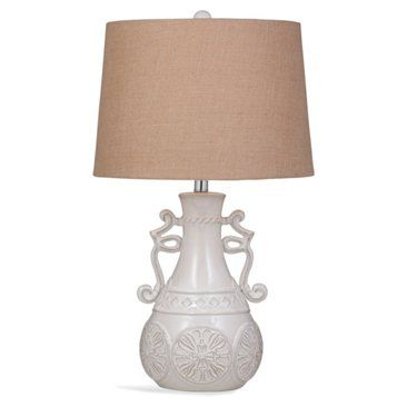 Check out this item at One Kings Lane! Catherine Table Lamp, Off-White
