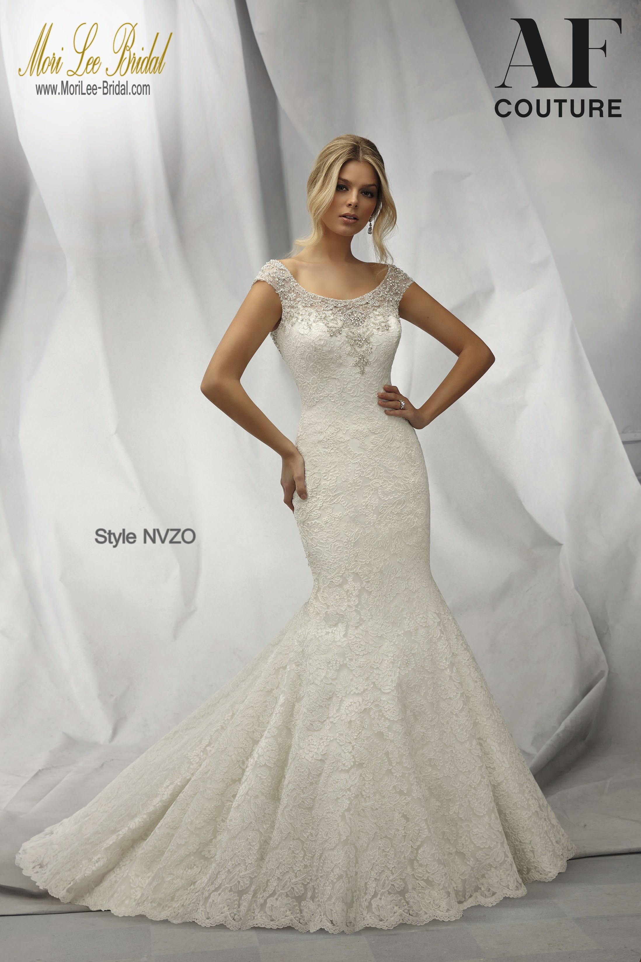 Dress style nvzo mori lee bridal elegant allover embroidered lace