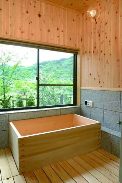 Japanese Soaking Tub With Jets Ofuro Soaking Hot Tubs