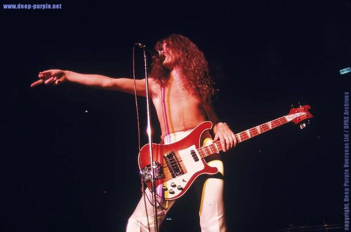 Glenn Hughes (Deep Purple) | Rickenbacker Rockers | Pinterest ...