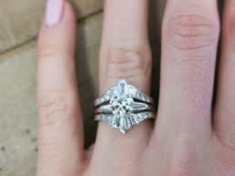 Wedding Ring Enhancer Vintage Rings In 2018 Pinterest Wedding