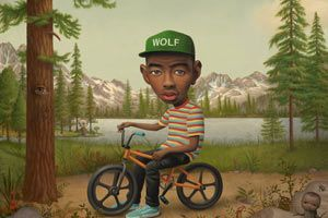 Juxtapoz Magazine Displaying Items By Tag Music Wolf Album Rap Album Covers Tyler The Creator
