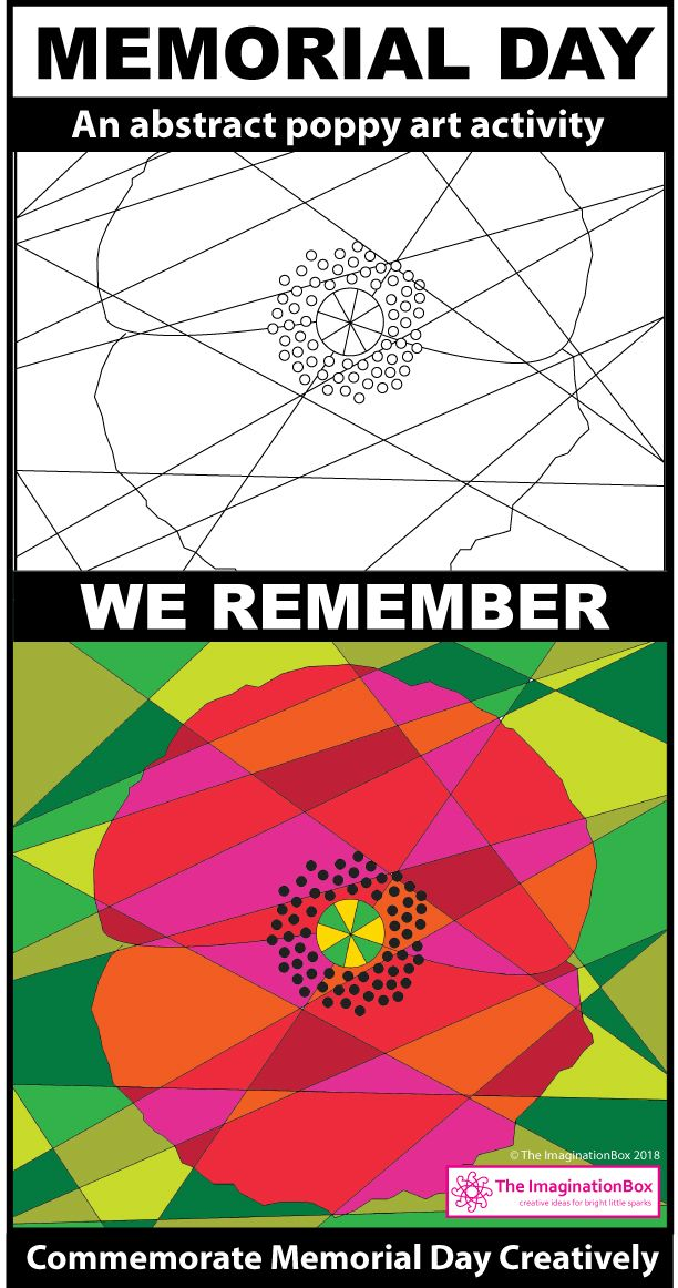 Memorial Day Coloring Pages - Poppies and Posters | Poppy template ...