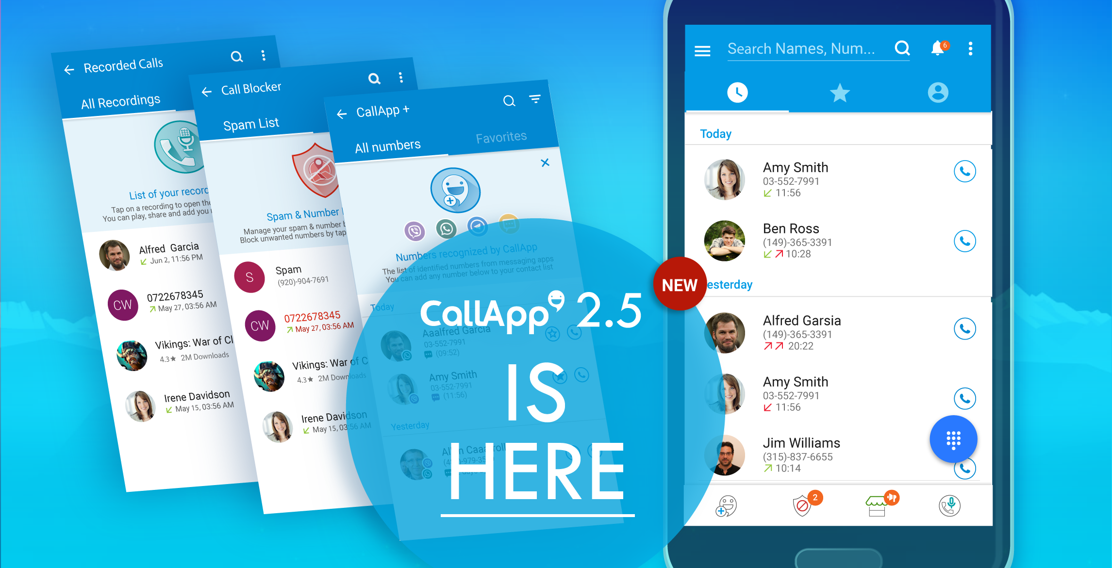 Yes, it's true    we just made CallApp even better! CallApp 2 5 is