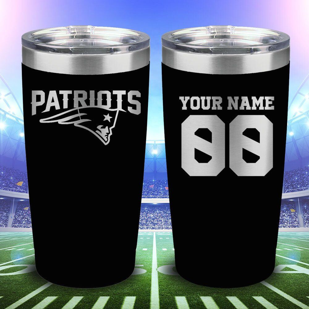New England Patriots 20oz Laser Engraved Tumbler Patriots By Texaslavishdesigns On Etsy Https Www Etsy Com Listing Engraved Tumbler Laser Engraving Patriots