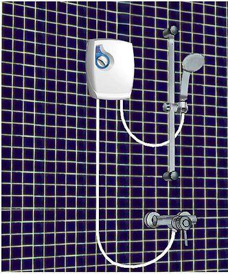 Electric Shower 5 5kw 240v Instant Hot Water Heater Tankless Boiler Caravan Rv For Gbp49 50 Home Furniture Boiler Shower Plumbing